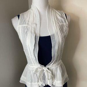 Doki Geki cotton vest, SZ small